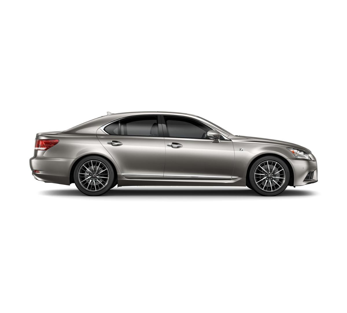 Escondido Atomic Silver 2017 Lexus LS 460: New Car For