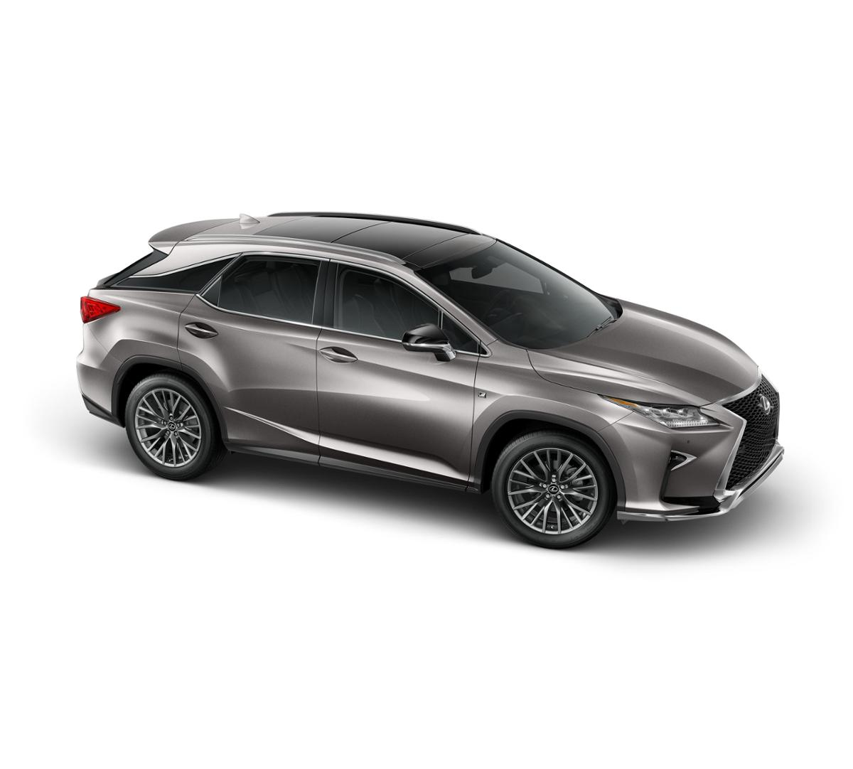 atomic silver 2017 lexus rx 350 f sport alexandria. Black Bedroom Furniture Sets. Home Design Ideas