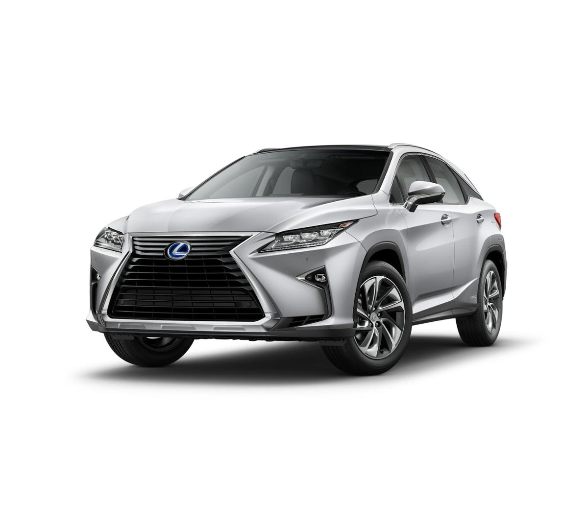 New 2017 Lexus RX 450h (Silver Lining Metallic) For Sale