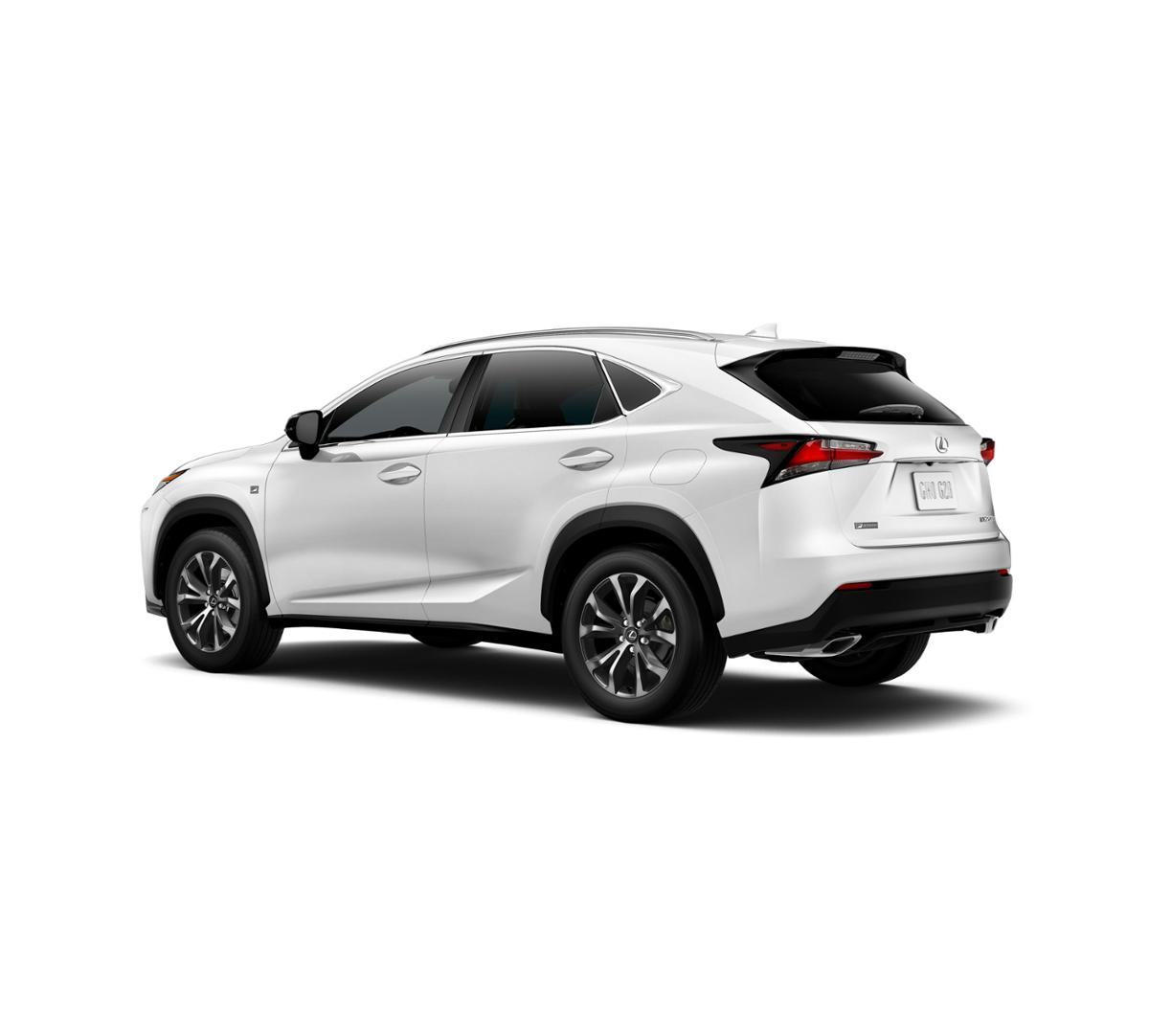 ultra white 2017 lexus nx turbo f sport alexandria. Black Bedroom Furniture Sets. Home Design Ideas