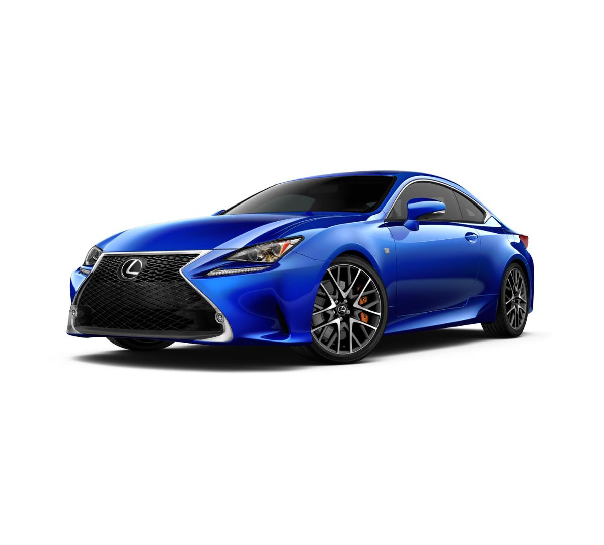 new ultrasonic blue mica 2017 lexus rc turbo rwd for sale. Black Bedroom Furniture Sets. Home Design Ideas