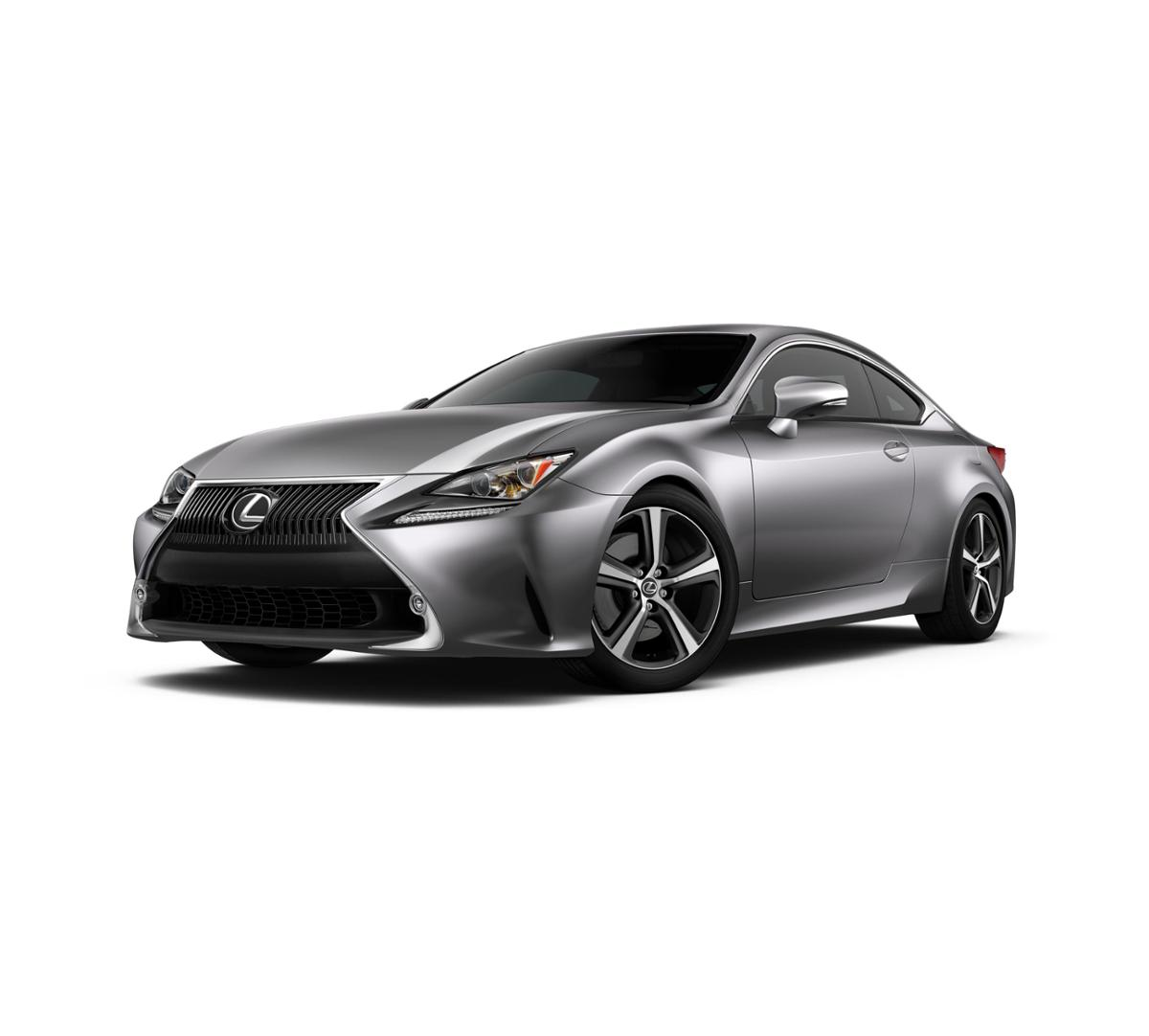 2017 Lexus Rc Exterior: 2017 Nebula Gray Pearl Lexus RC Turbo For Sale In San