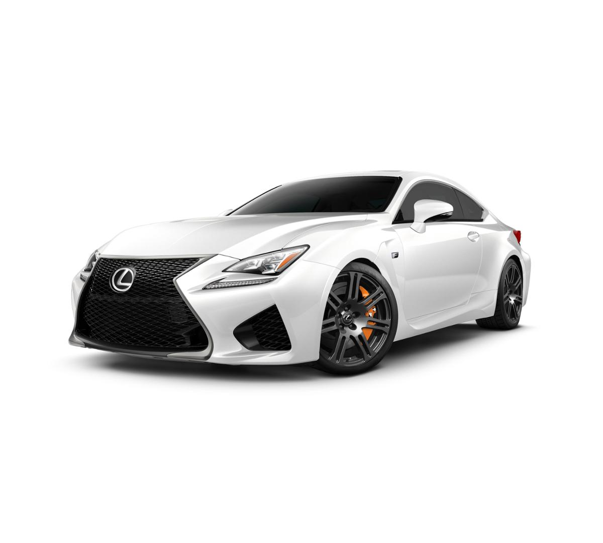 2017 Lexus Rc Exterior: Escondido Ultra White 2017 Lexus RC F: New Car For Sale