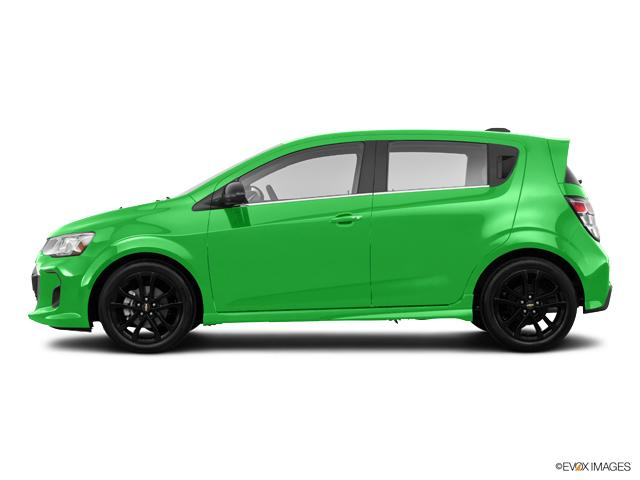New 2017 Gmv Krypton Green Chevrolet Sonic Hatch Premier