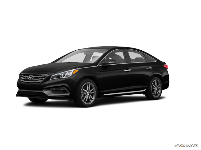 Hyundai Sonata Limited 2015 Black
