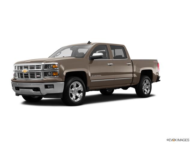 Certified 2015 Chevrolet Silverado 1500 Brown For Sale