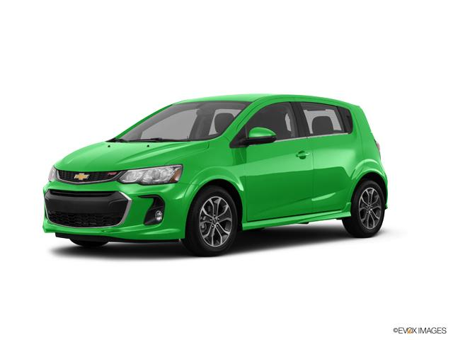 New Krypton Green 2017 Chevrolet Sonic Hatch Lt Auto For