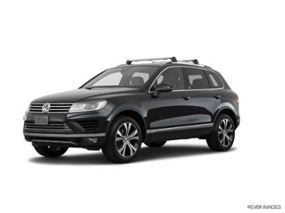 2017 Volkswagen Touareg at Bergstrom Imports on Victory Lane