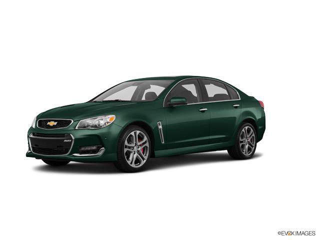 2017 Chevrolet SS New Regal Peacock Green Metallic Car