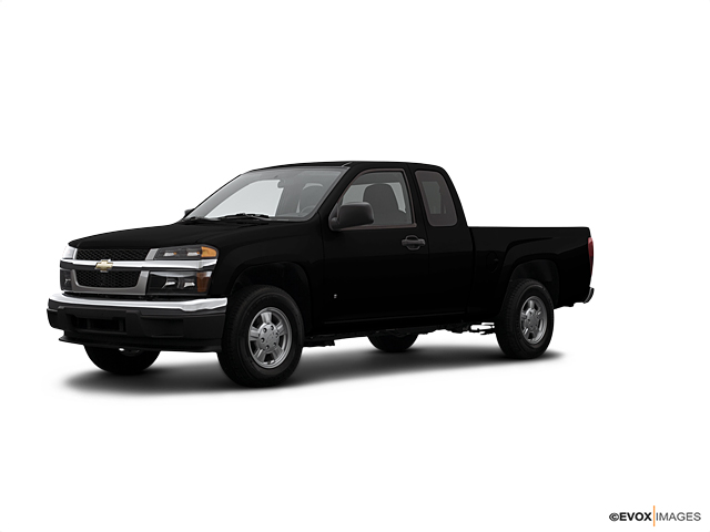 2007 Black 2wd Extended Cab Work Truck Chevrolet Colorado