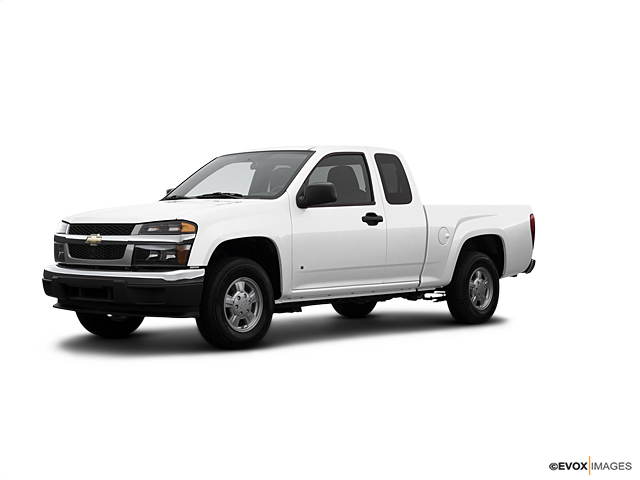 Used Summit White 2007 Chevrolet Colorado 2WD Extended Cab