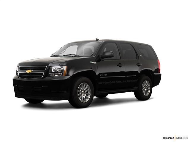 st petersburg black 2009 chevrolet tahoe hybrid used suv for sale 71526a. Black Bedroom Furniture Sets. Home Design Ideas