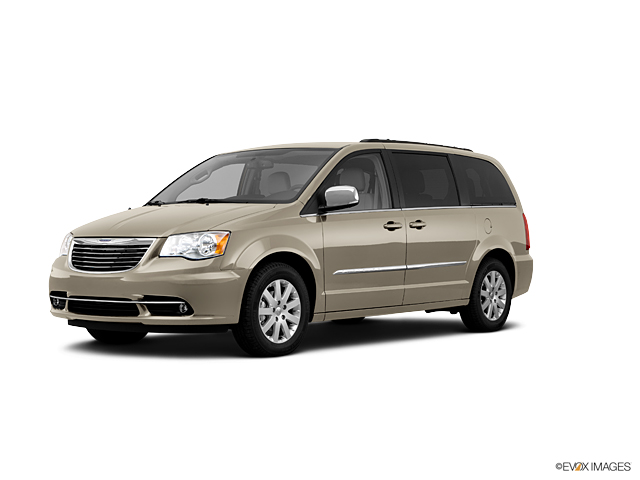 Used 2011 White Gold 3 6L Chrysler Town & Country For Sale