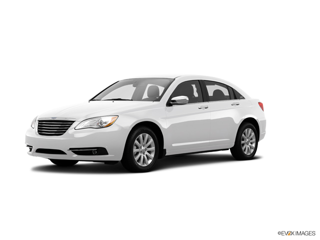 2014 Chrysler 200 4dr Sdn Touring Bright White Clearcoat