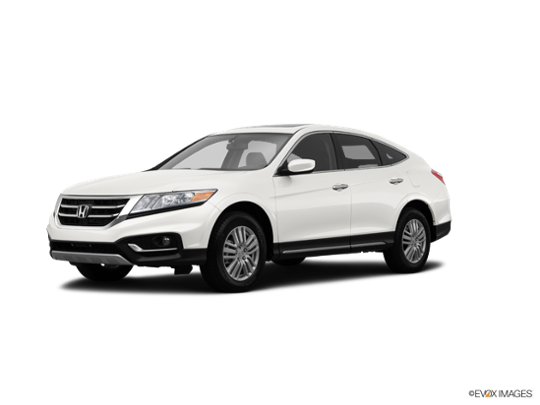 2015 Honda Crosstour in White Diamond Pearl