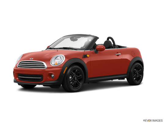 2015 MINI Cooper S Roadster in Spice Orange Metallic