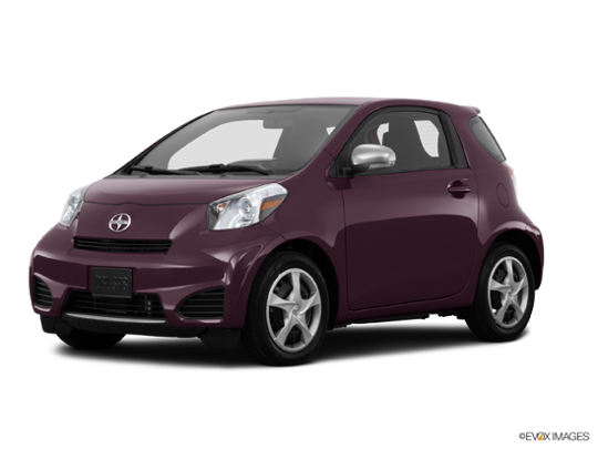 2015 Scion iQ in Black Currant Metallic