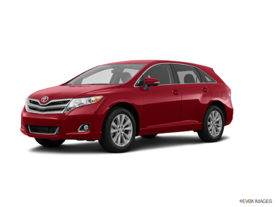 2015 Toyota Venza in Barcelona Red Metallic