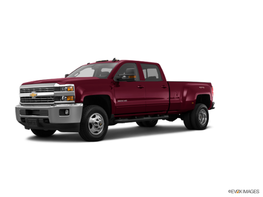 2015 Chevrolet Silverado 3500HD Built After Aug 14 in Deep Ruby Metallic