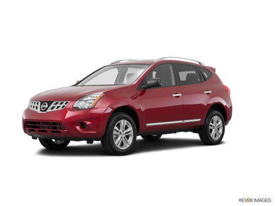 2015 Nissan Rogue Select in Cayenne Red