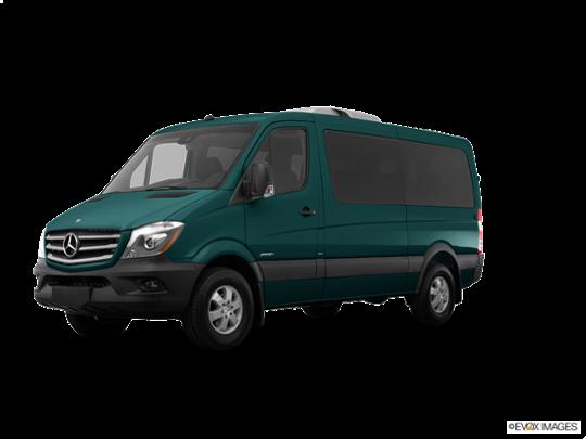 2015 Mercedes-Benz Sprinter Passenger Vans in Aqua Green