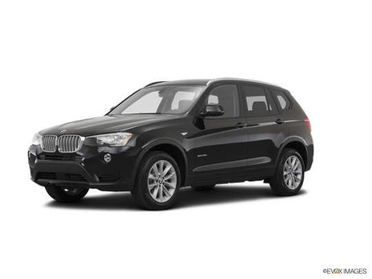 2016 BMW X3 xDrive28i in Jet Black