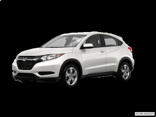 2016 Honda HR-V in White Orchid Pearl