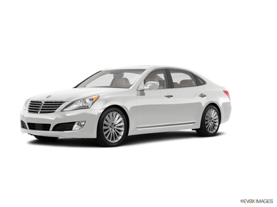 2016 Hyundai Equus in Casablanca White
