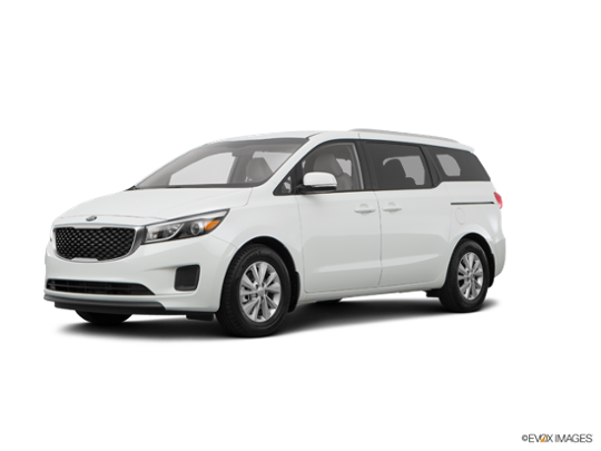 2016 Kia Sedona in Clear White