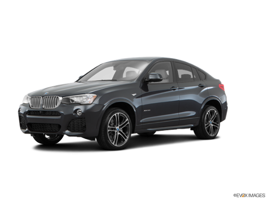 2016 BMW X4 xDrive35i in Dark Graphite Metallic