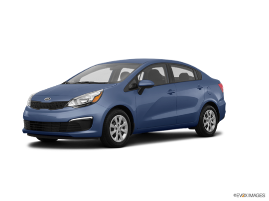2016 Kia Rio in Urban Blue Pearl Metallic