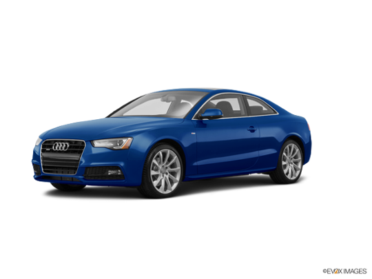 2016 Audi A5 in Scuba Blue Metallic