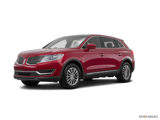 2016 LINCOLN MKX in Ruby Red Metallic Tinted Clearcoat
