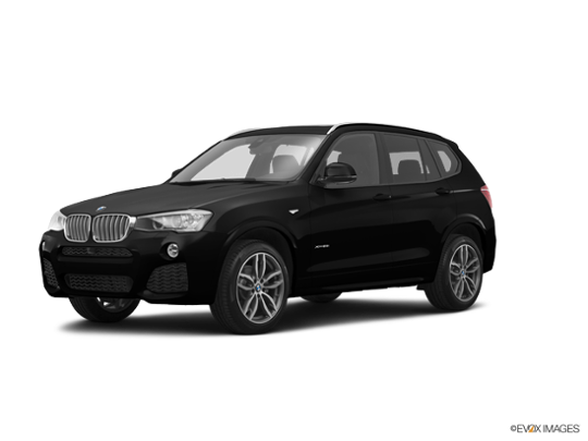 2016 BMW X3 xDrive35i in Jet Black