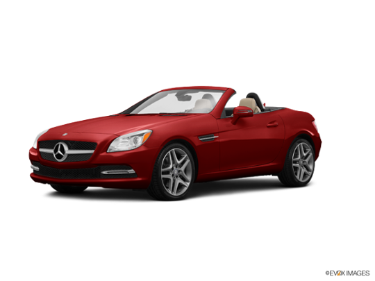2016 Mercedes-Benz SLK in designo Cardinal Red Metallic