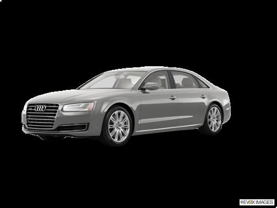 2016 Audi A8 L in Florett Silver Metallic