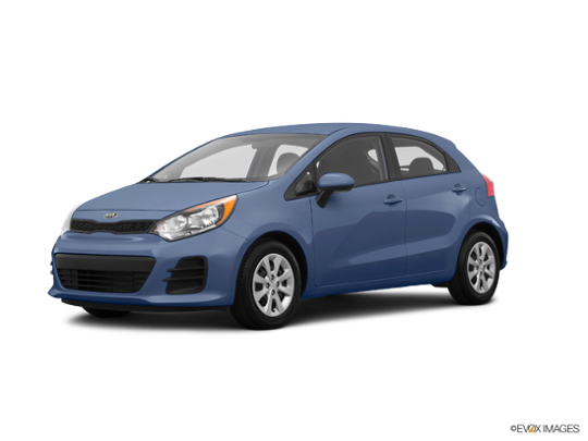 2016 Kia Rio 5-door in Urban Blue Pearl Metallic