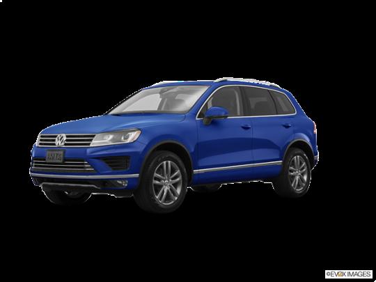 2016 Volkswagen Touareg in Reef Blue Metallic