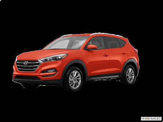 2016 Hyundai Tucson in Sedona Sunset