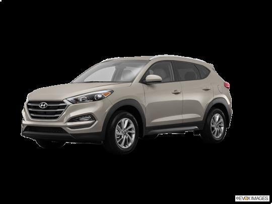 2016 Hyundai Tucson in Chromium Silver