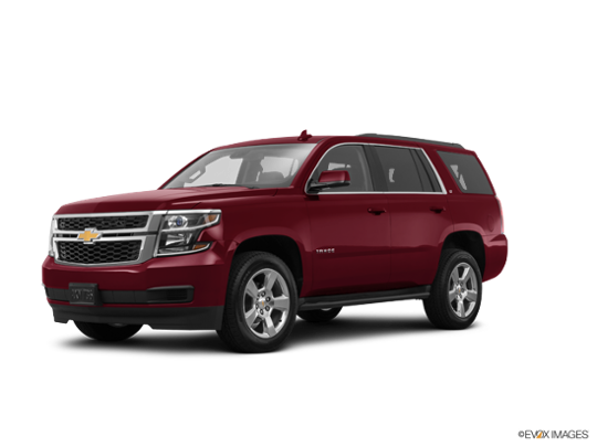 2016 Chevrolet Tahoe in Siren Red Tintcoat