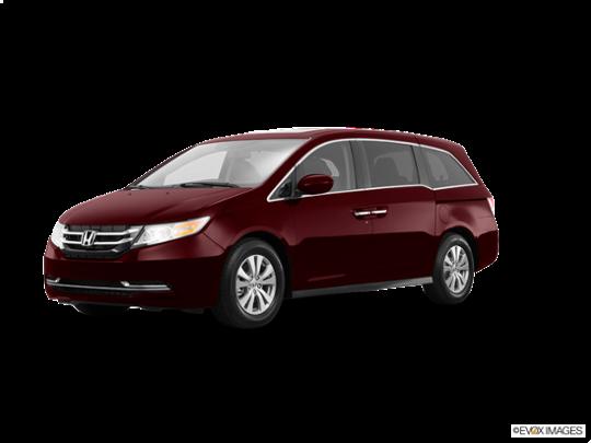 2016 Honda Odyssey in Deep Scarlet Pearl