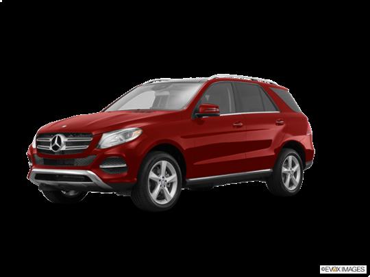 2016 Mercedes-Benz GLE in designo Cardinal Red Metallic