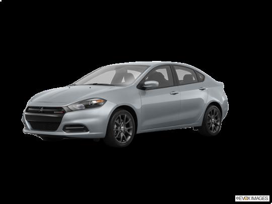 2016 Dodge Dart in Billet Silver Metallic Clearcoat