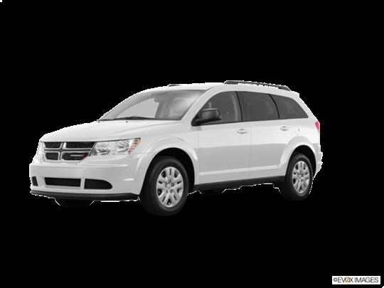 2016 Dodge Journey in White