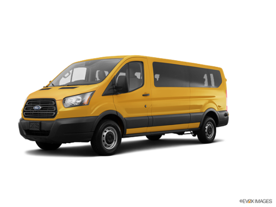 2016 Ford Transit Wagon in School Bus Yellow