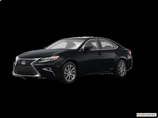 2016 Lexus ES 300h in Obsidian