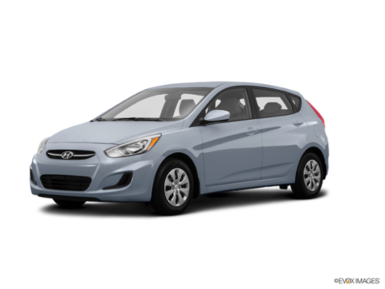 2016 Hyundai Accent in Ironman Silver Metallic