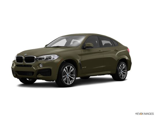 2016 BMW X6 xDrive35i in Dark Olive Metallic