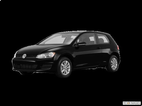 2016 Volkswagen Golf in Black